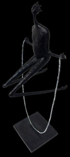 Jumping Rope Inke Zeegelaar sculptures