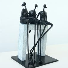 Small Talk Inke Zeegelaar Sculptures
