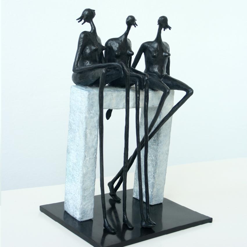 Small Talk Inke Zeegelaar sculptures
