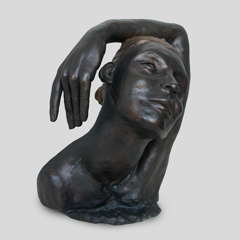 Bust II Inke Zeegelaar sculptures