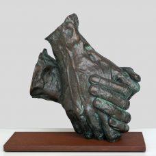 Hands II Inke Zeegelaar Sculptures