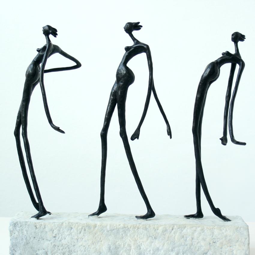 Catwalk Inke Zeegelaar sculptures