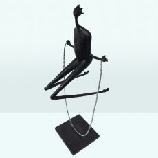 Jumping Rope Inke Zeegelaar Sculptures